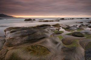 rocas al descubierto en la juncosa